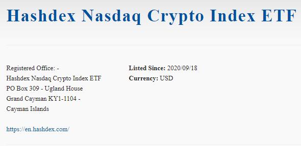 Primer ETF de Bitcoin ha sido aprobado en Bermudas gracias a Hashdex y Nasdaq