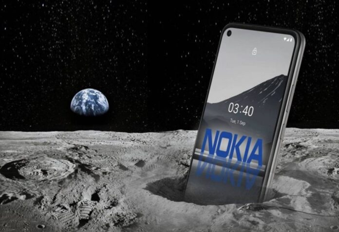 Las acciones de Nokia saltan al alza La luna es la razón