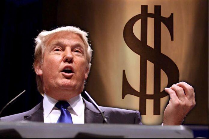 Pintura de Trump será subastada a 750.000 por las elecciones presidenciales