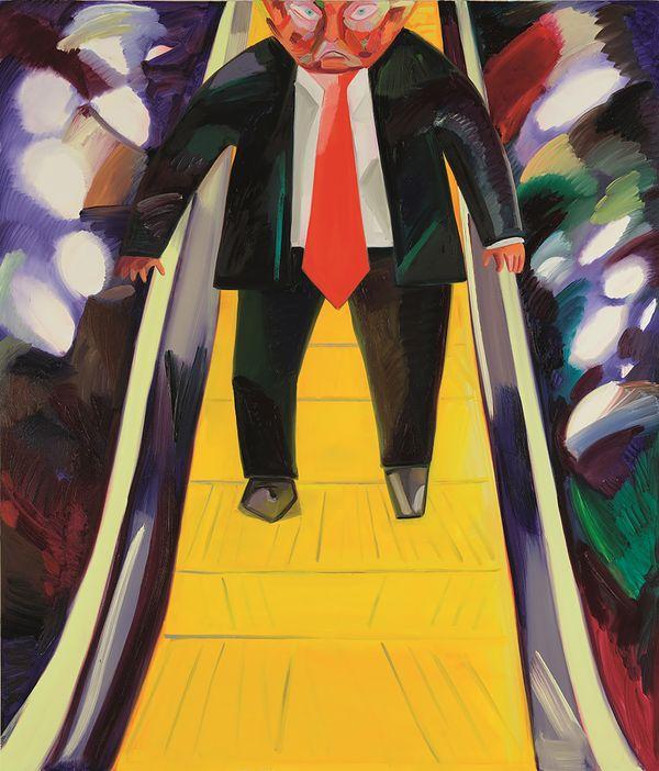 Pintura de Donald Trump será subastada por 750.000$ antes de las elecciones presidenciales.