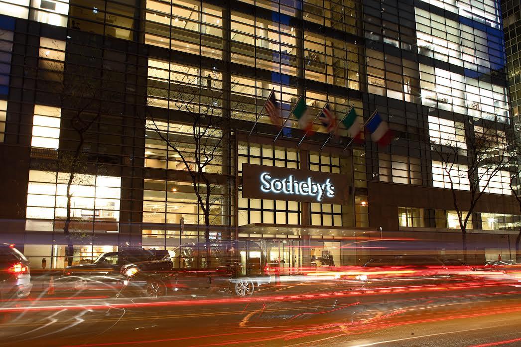 Sotheby's demandado por la Fiscalía de Nueva York por evasión de impuestos