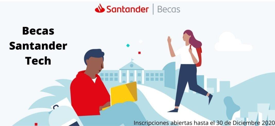 Becas Santander Tech Postúlate cuanto antes y aprende de Blockchain