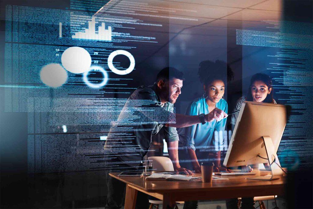 Conoce las becas Santander Tech y anímate a participar, puede ser tu oportunidad para aprender sobre tecnologías emergentes y blockchain. Fuente: Banco Santander
