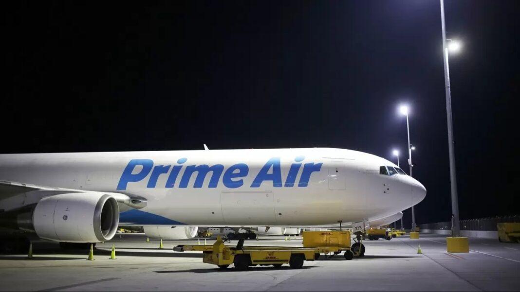 Amazon compra aviones comerciales y expande su flota de transporte aéreo