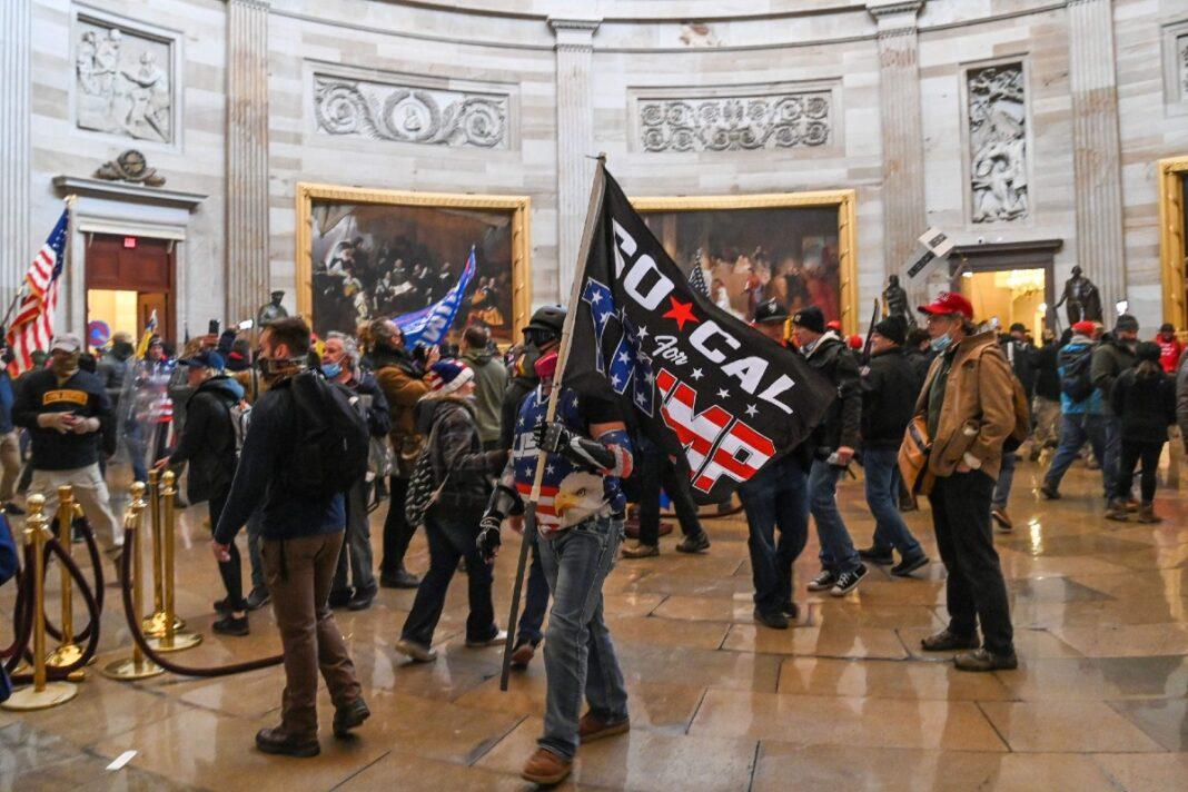 Seguidores de Trump toman el Capitolio de los Estados Unidos