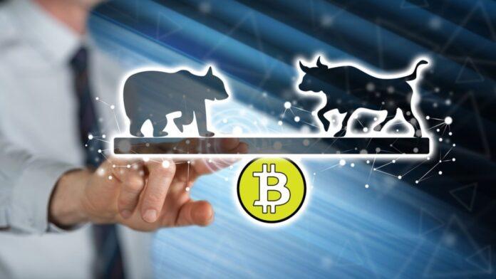 Toros y Osos luchan por un equilibrio en el precio del Bitcoin