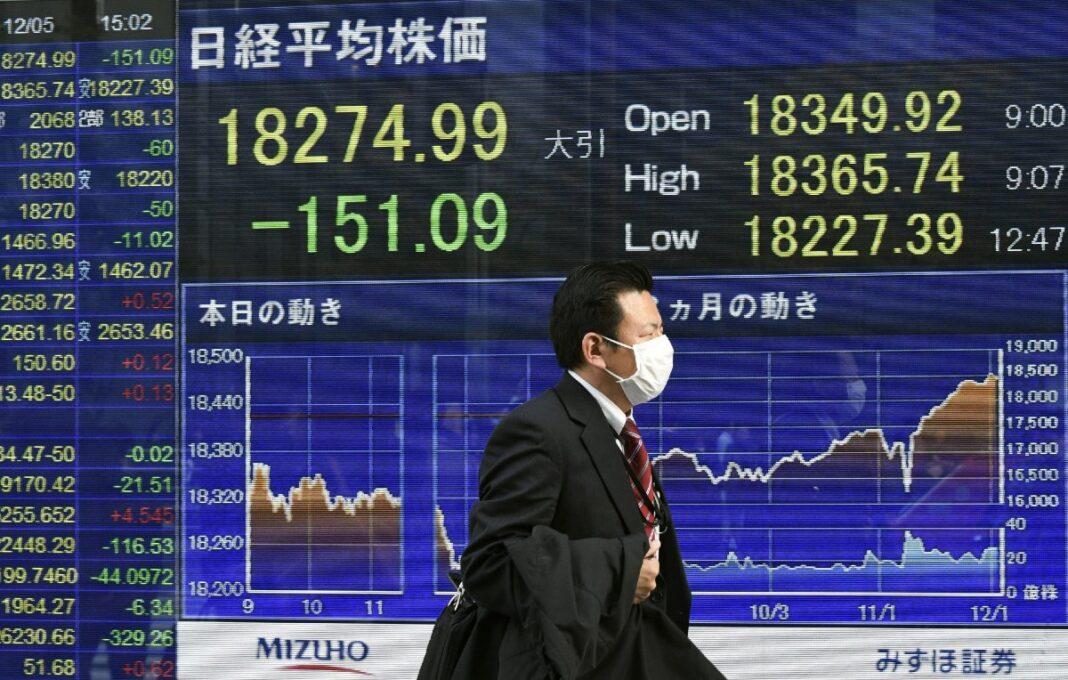 Índice japonés Nikkei 225 alcanza su punto más alto desde 1990