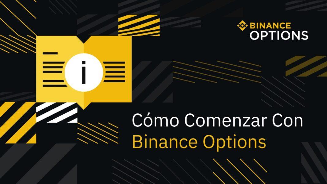 Cómo invertir en opciones con Binance