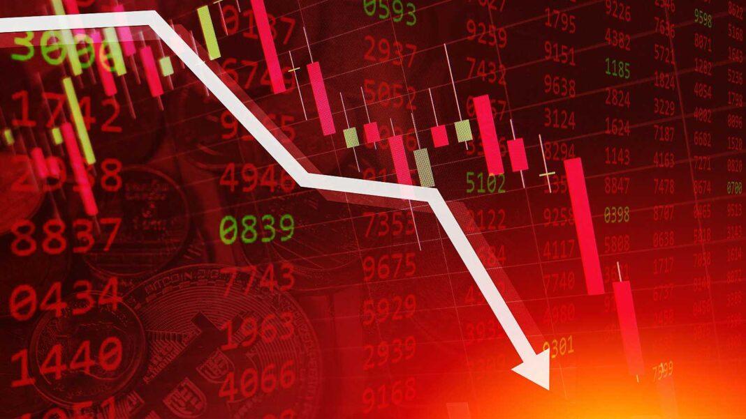 Grandes bancos pierden más de 6 millardos de dólares en pocas horas