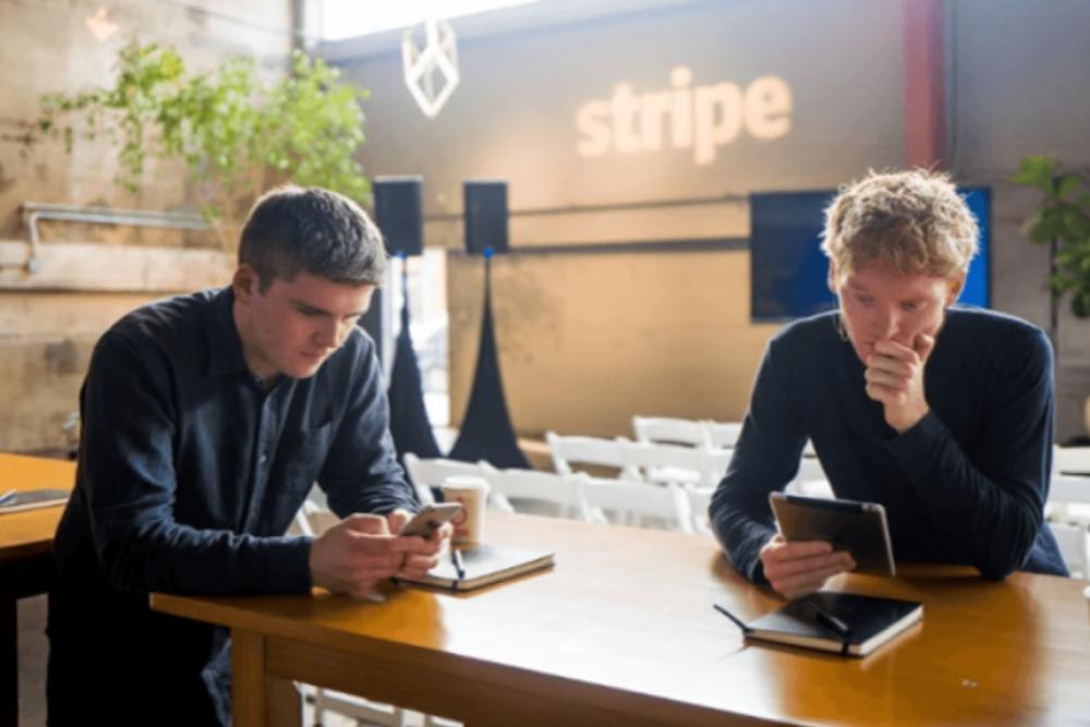 Hermanos Collison fundadores de la compañía Stripe. Fuente: Google
