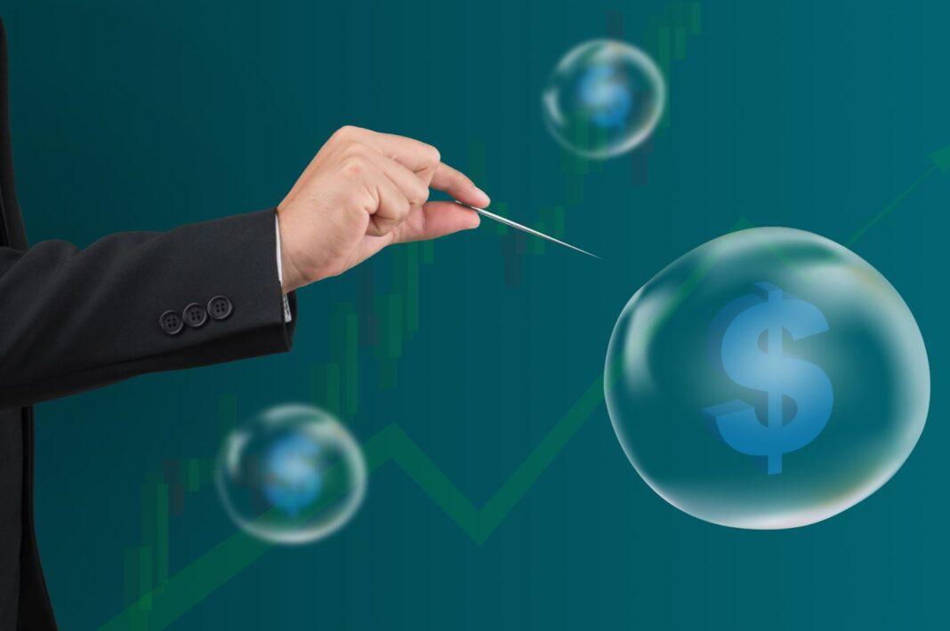 El mercado en una burbuja bursátil