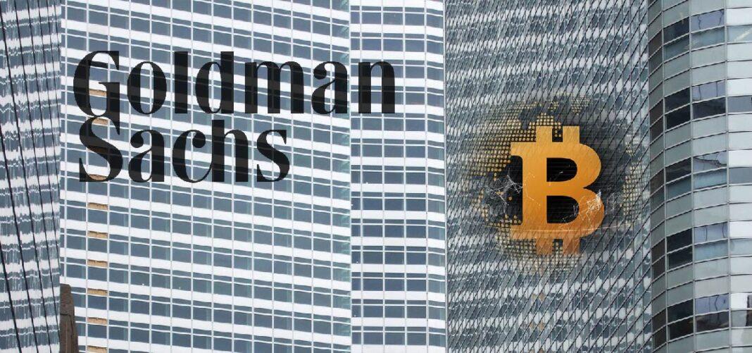 Goldman Sachs ofrece un sistema de administración patrimonial en Bitcoin