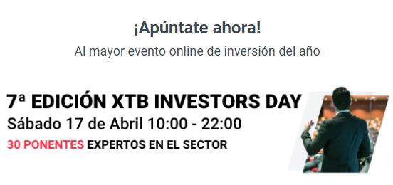 Aprende a invertir en el XTB Investors Day 2021