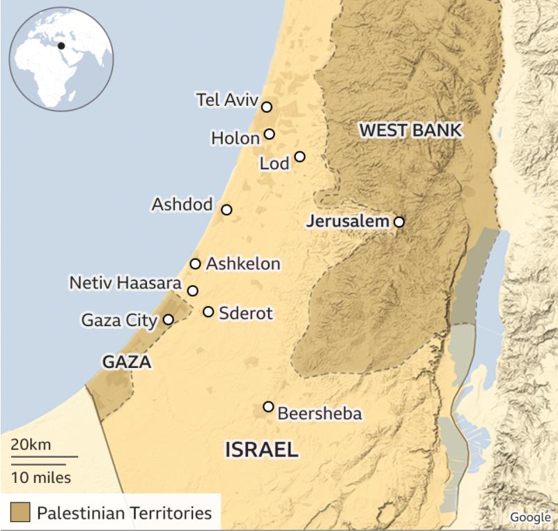Conflicto Israelí-Palestino se remonta a una historia de décadas, siendo el epicentro la afamada Franja de Gaza.