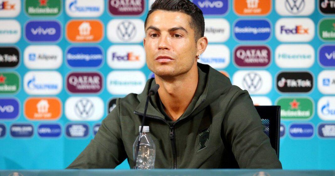 Cristiano Ronaldo hace perder más de 4000 millones a Coca Cola con un gesto