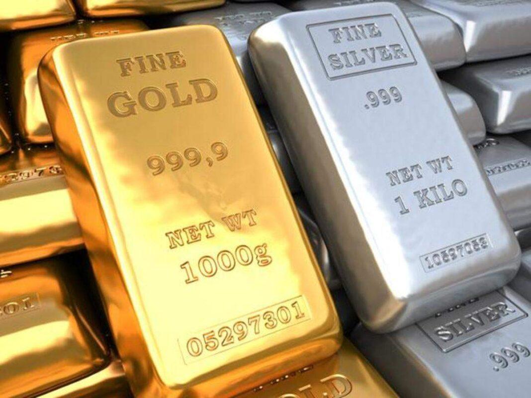 El Oro y la Plata bajan tras la reunión de la FED