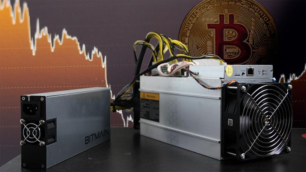 Hashrate de Bitcoin baja a niveles de 2019