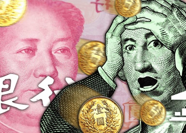 Los bancos de China están repletos de dólares