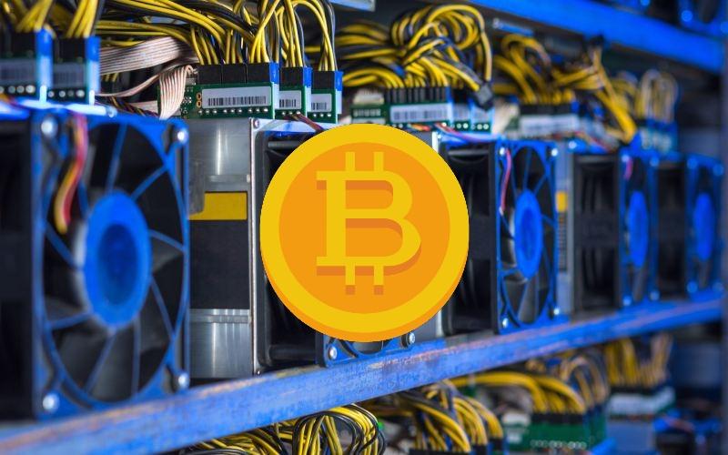 Minería Bitcoin disposición de las máquinas