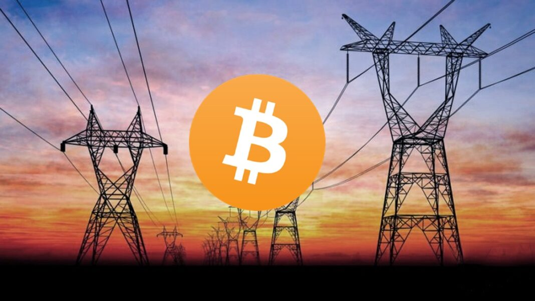Minería Bitcoin el tendido eléctrico para una mini granja