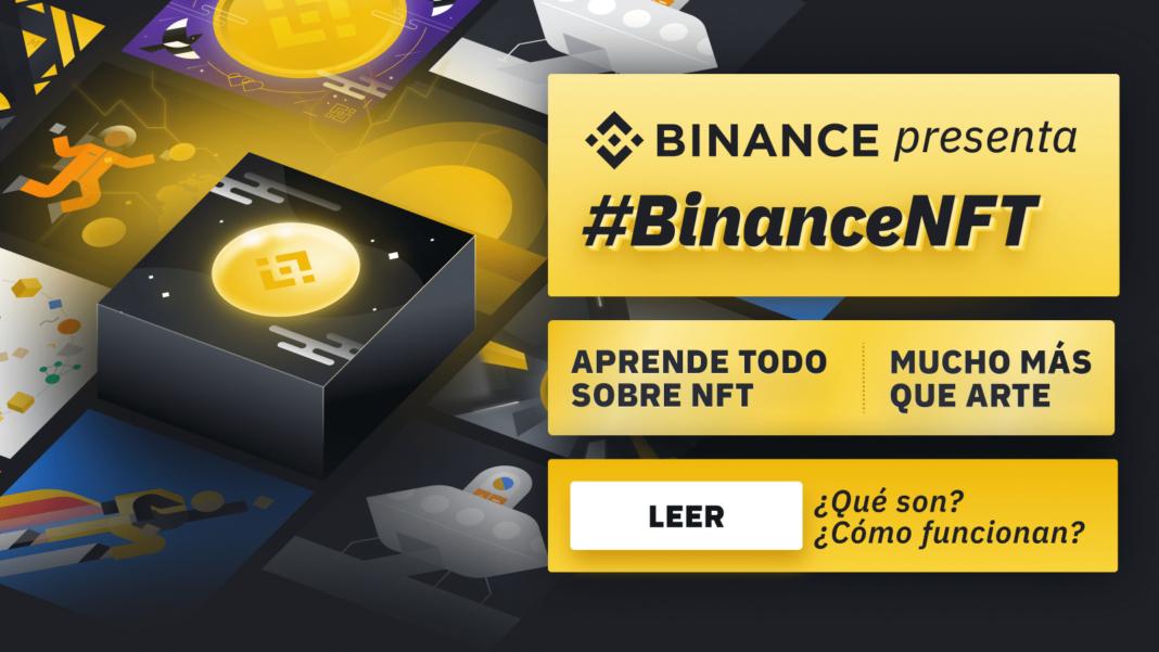 Plataforma NFT de Binance ya está disponible para los usuarios