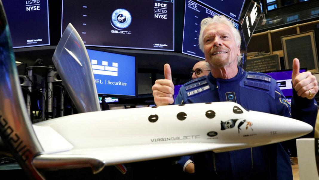 Acciones de viajes espaciales que llaman la atención actualmente
