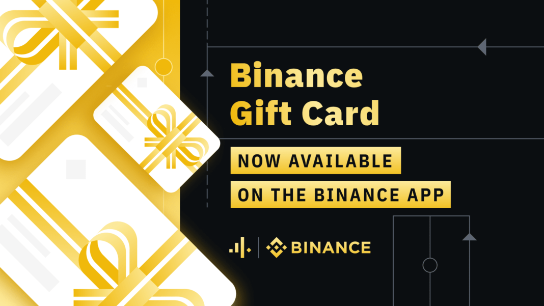 Ahora puedes regalar Gift Cards de Binance