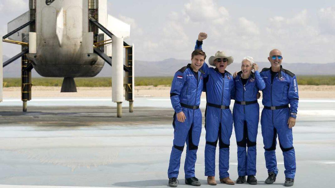 Jeff Bezos alcanza el espacio