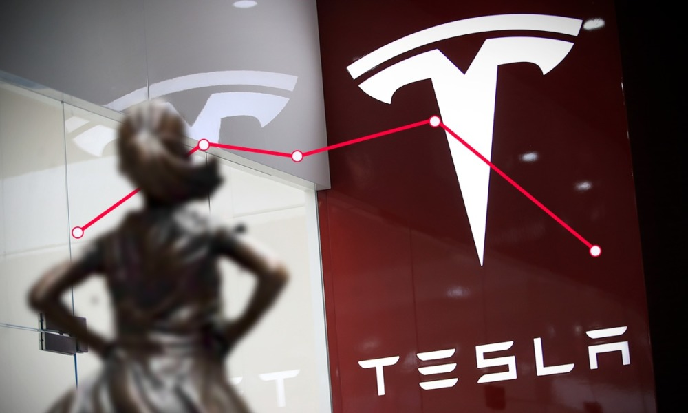 Tesla superó las estimaciones de ganancias este lunes
