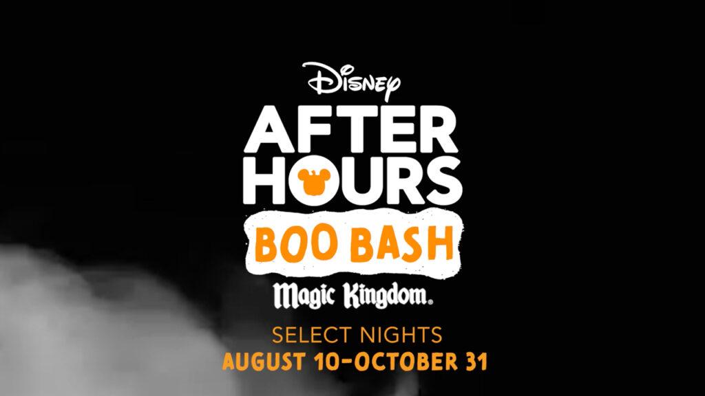 Uno de los eventos que mayor impacto podría tener en las acciones de Disney, es el Disney After Hours Boo Bash, el cual arranca el 10 de agosto. Fuente: Disney Park