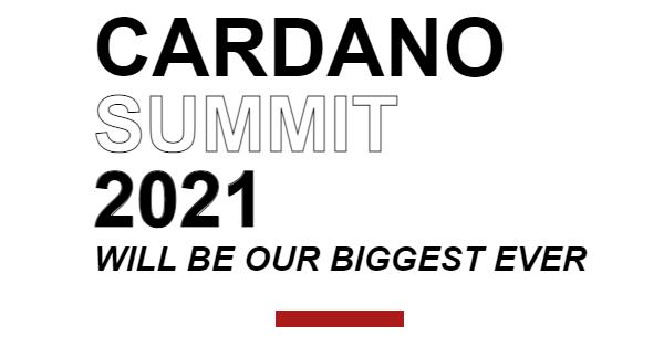 El evento Cardano Summit 2021 se aproxima y los usuarios se pueden registrar de manera gratuita en el portal del evento. Fuente: Cardan Summit