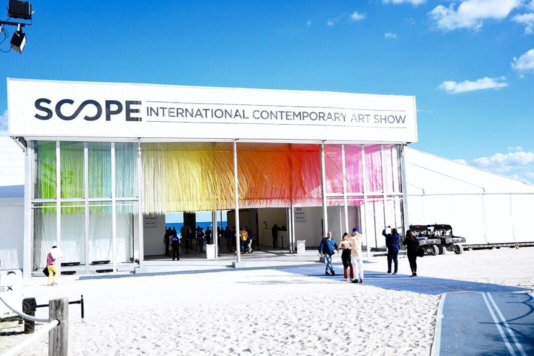 Festival de arte SCOPE vende boletos VIP en forma de NFT