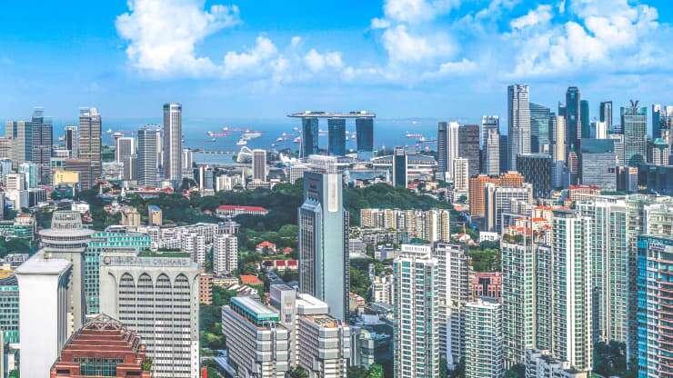 Singapur se destaca entre las ciudades de la región Asia-Pacífico con los precios más altos para la compra de viviendas. Fuente: CNBC