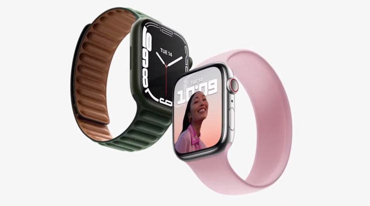 Los ejecutivos de Apple han presentado el Apple Watch Series 7, durante el evento de lanzamiento oficial de Apple. Fuente: Apple Inc
