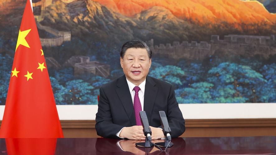 El presidente de China, Xi Jinping, anunció la creación de la bolsa de valor de Pekín para dar un mayor impulso a la innovación por medio de las pymes. Fuente: CGTN