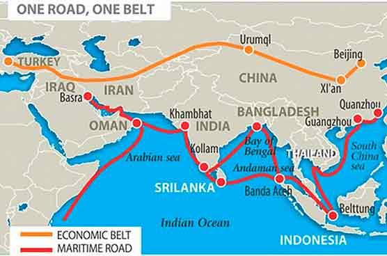 El Cinturón y la Ruta, el ambicioso proyecto de China para dominar los recursos estratégicos, podría posarse sobre las reservas minerales de Afganistán. Fuente: Socialistworld.net