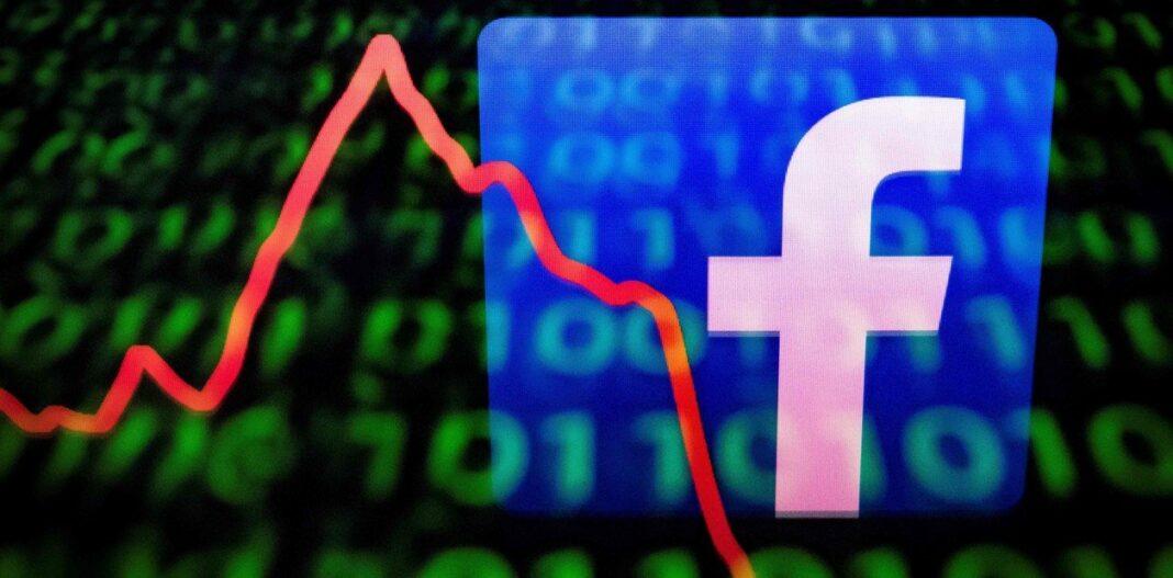 ¡Facebook se desplomó un 5% en la bolsa tras la interrupción de su plataforma!