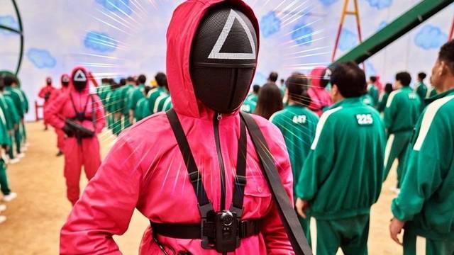 Millones de personas están atrapados en la nueva moda surcoreana, se trata de la serie El Juego del Calamar de Netflix. Fuente: RNN
