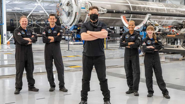 SpaceX, la empresa de exploración espacial de Elon Musk, alcanza los $100.000 millones de dólares en valoración. Fuente: CNBC